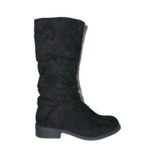 Sonoma Black Suede Boots-Sz 2